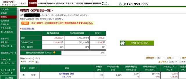 貸株 松井証券 デメリット 申し込み